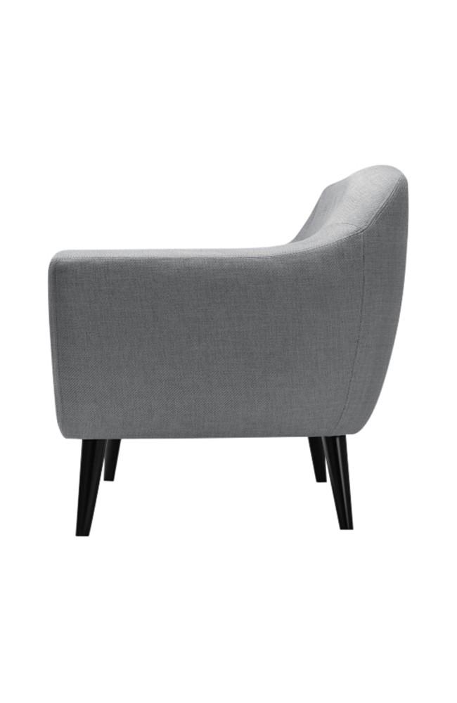 canape ritchie gris. Black Bedroom Furniture Sets. Home Design Ideas