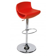TABOURET BORG Rouge
