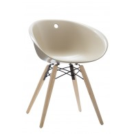 FAUTEUIL GLISS WOOD - Sable